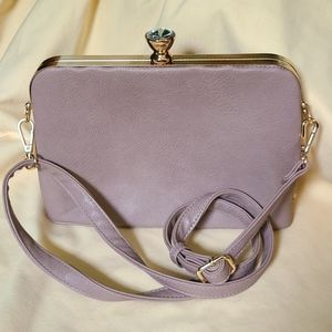 Mauve MADISON Classy Snap Pocketbook NEW Purse Bag